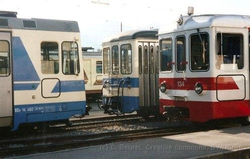 Les 3 petits trains d'Aigle